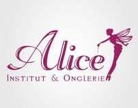 Corporate Identity - Alice Institut & Onglerie