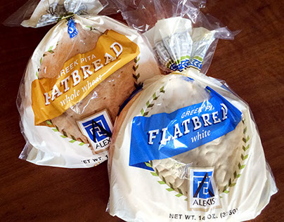 Alexis Flatbread Packaging