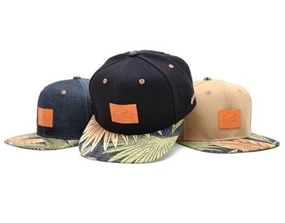 Filter017 Bahamian Breeze Coal Fabric Snapback Cap