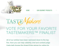 Purina Fancy Feast Tastemakers site