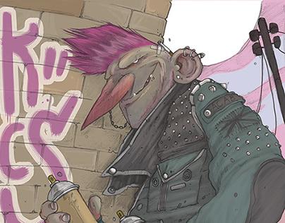 Punk Ethics LP cover art