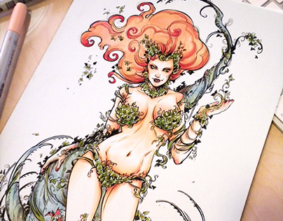 Poison Ivy - Commission
