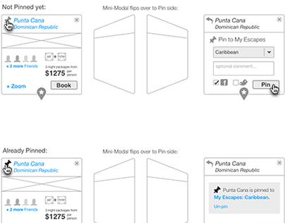 UX ideation examples