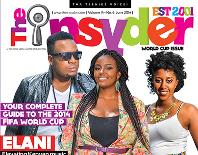 June issue of The Insyder magazine