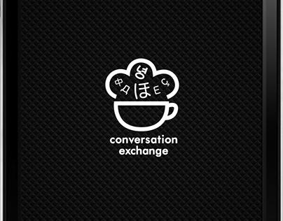 Conversation & exchange app design, Projet personnel
