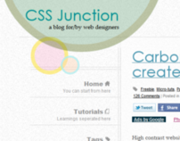 CSS Junction - a blog for/by web designers