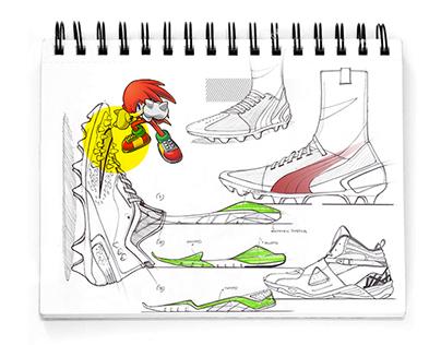Qs footwear SKETCHBOOK