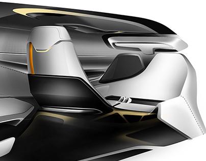 Robotic Interior System for Autonomous Vehicle