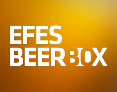 Efes Beer Box Logo Design