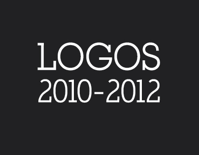 Logos and logotypes 2010-2012