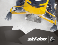 Ski Doo BRP Press Kit Design