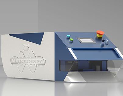 Design concept AGV for Martinrea In construction