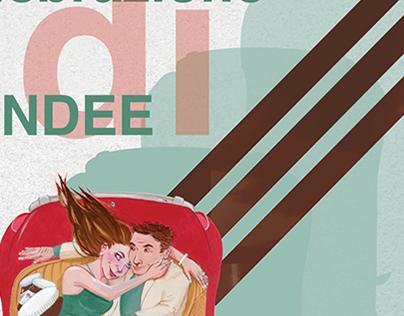 Race Themed Wedding Poster
