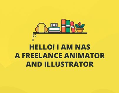Nasibah.co - Portfolio Website Design
