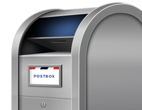 Postbox Application Icon Design