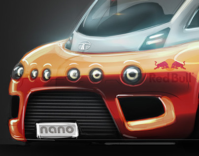 Rocket Nano Group B Rally Car
