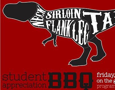 Student Appreciation BBQ Flyer
