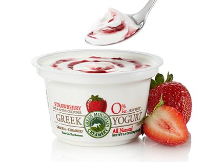 Green Mountain Creamery Packaging Design