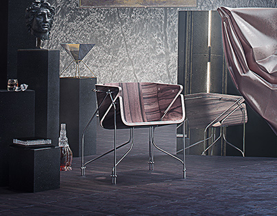 Chair 4 + Vanitas environment