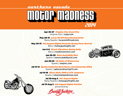 RSCVA Motor Madness Ad