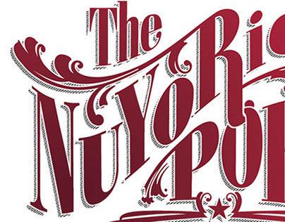 NuyoRican Poets Café Typography