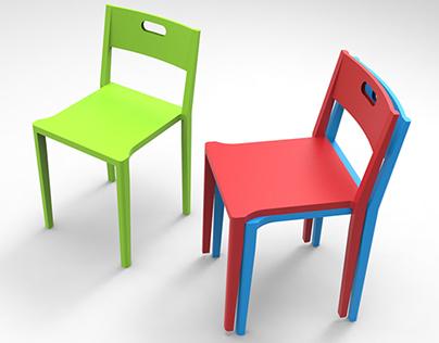 Stackable Chair Concept Design