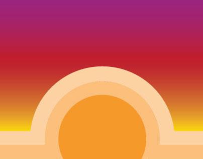 Sunset Paradise on earth