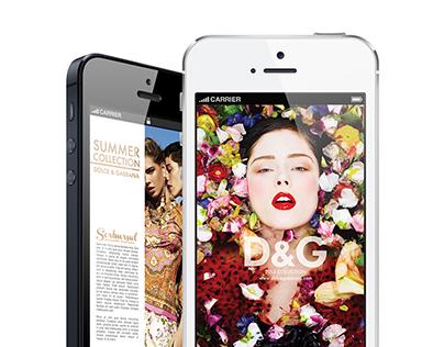 Fashion Catalog / Dolce & Gabbana