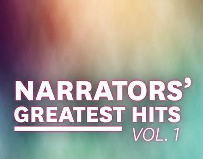 Audibles Narrators Greatest Hits Volume 1