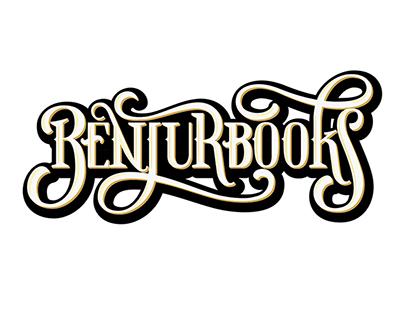 Benjurbooks - lettering