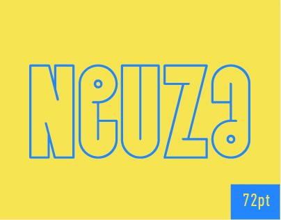 Neuza Typeface.  Free Font!