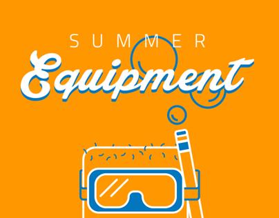 Summer EQUIPMENT ☀