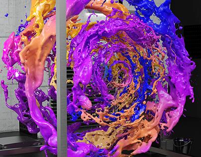 Liquid Sound Sculpture