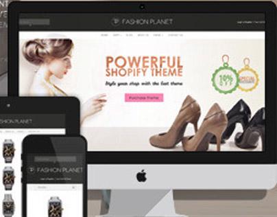Fashion Planet Shopify Theme
