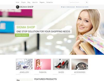 Sigma | Responsive Multipurpose Shopify Theme
