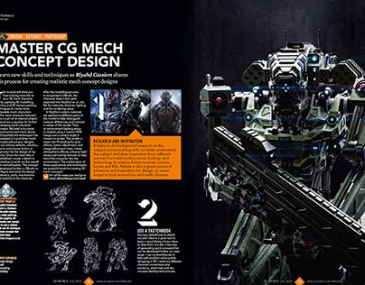 3d World Magazine July 2014 Mech Tutorial