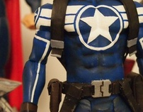 Captain America [7 WWE Figure]