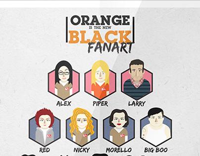 Orange is the new black // Fanart