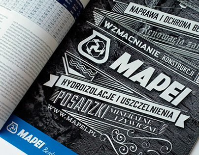 Mapei | Typography Adv.
