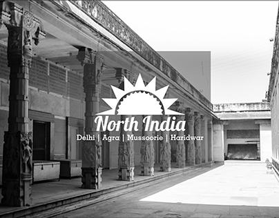 Touring-North India            Black & White