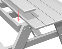 Popular Mechanics iPad video - Picnic Table