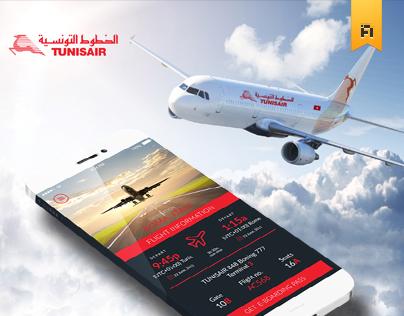 TUNISAIR App IOS7
