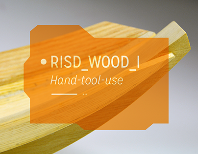 RISD_WOOD_I // Shaping + Lamination