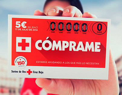 Red Cross - Sorteo de Oro 2014 Campaign