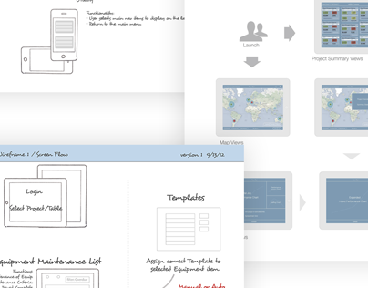 Wireframes & Storyboards