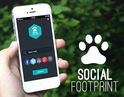 Social Footprint - App