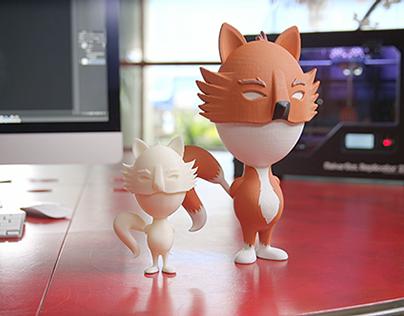 Adobe 3d Printed Toy