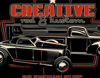 Creatve Rod & Kustom Tees