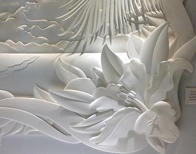 Leblon - paper sculptures