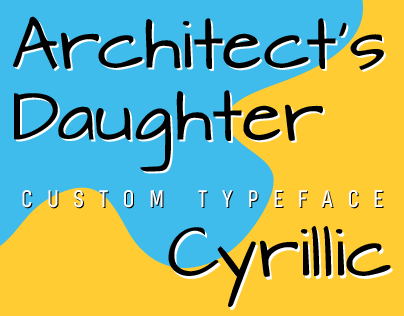 Architects Daughter Cyrillic